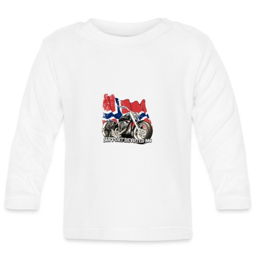 SUPPORT STREETWARE FLAG1 - Langarmet baby-T-skjorte