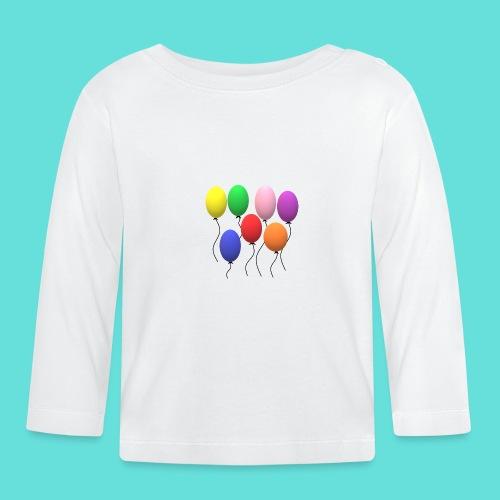 ballons - T-shirt manches longues Bébé