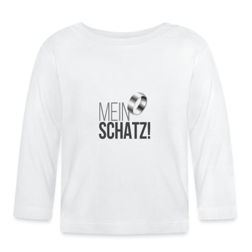 Mein Schatz! - Baby Langarmshirt