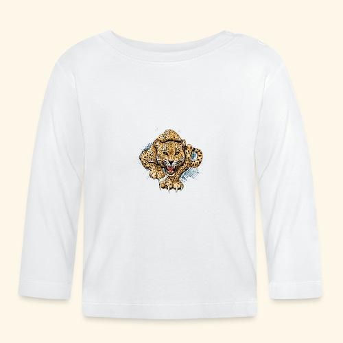 Leopardo KutuXa - Camiseta manga larga bebé