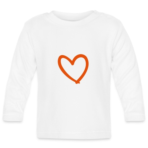 Heart Lines Pixellamb - Baby Langarmshirt