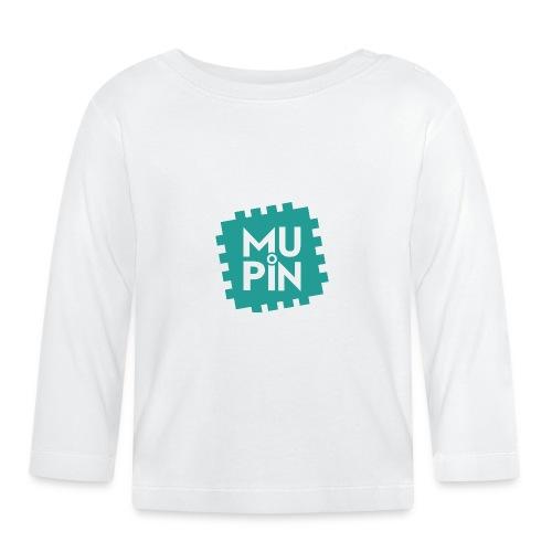 Logo Mupin quadrato - Maglietta a manica lunga per bambini