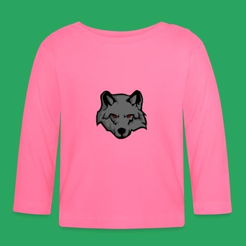 wolf logo - Maglietta a manica lunga per bambini