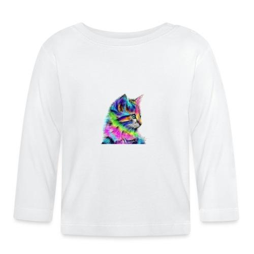 Katzen-Flower - Baby Langarmshirt