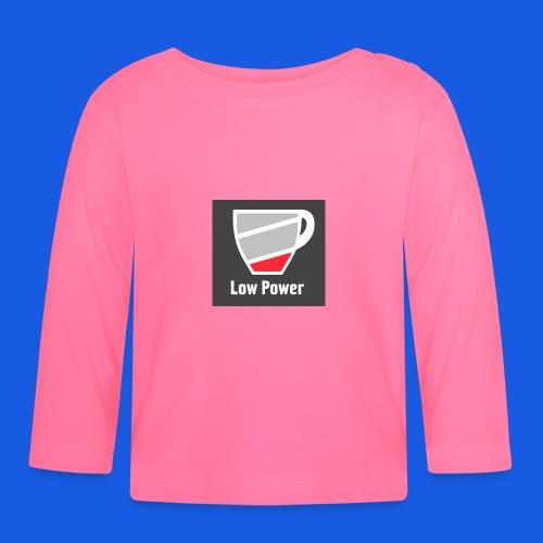 Low power need refill - Langærmet babyshirt