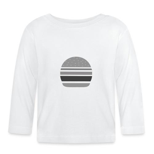 Logo_panhamburger_gris - T-shirt manches longues Bébé