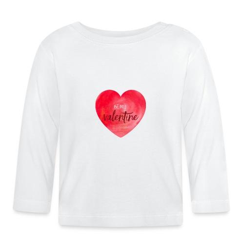 Cœur st.valentin - T-shirt manches longues Bébé