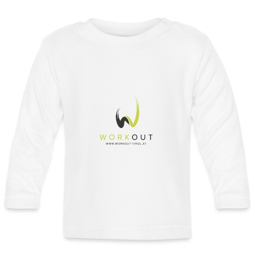 Workout Color mit Url - Baby Langarmshirt
