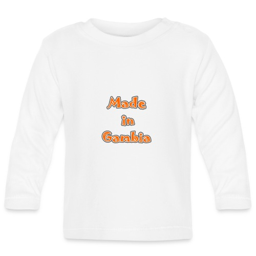 Made in Gambia - Baby Long Sleeve T-Shirt