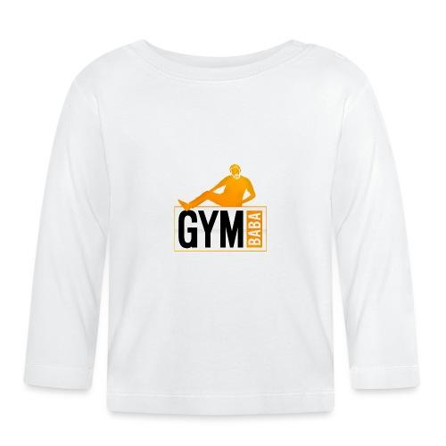Gym baba 2 orange - T-shirt manches longues Bébé