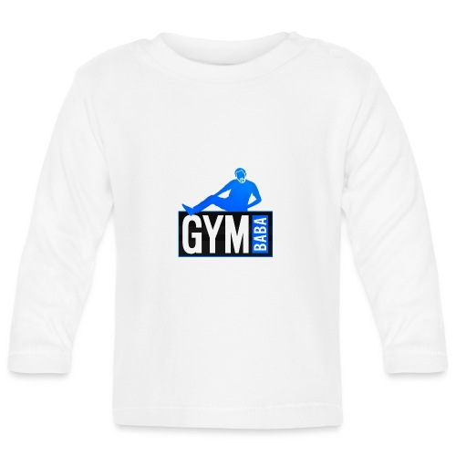 Gym baba 2 bleu - T-shirt manches longues Bébé