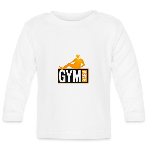 gym-baba-2-org-txtBlc dgr - T-shirt manches longues Bébé