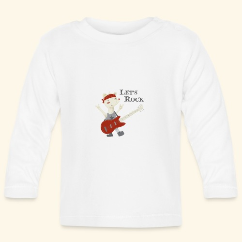 rock lupet - Baby Long Sleeve T-Shirt