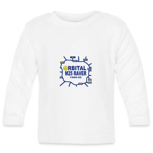 Orbital M25 Acid Hosue Raver - Baby Long Sleeve T-Shirt