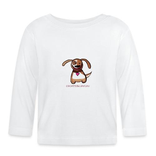 Titou le chien - T-shirt manches longues Bébé