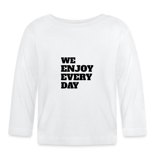 Enjoy - T-shirt manches longues Bébé