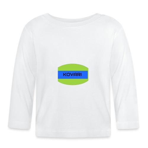 Kovari Logo - Vauvan pitkähihainen paita