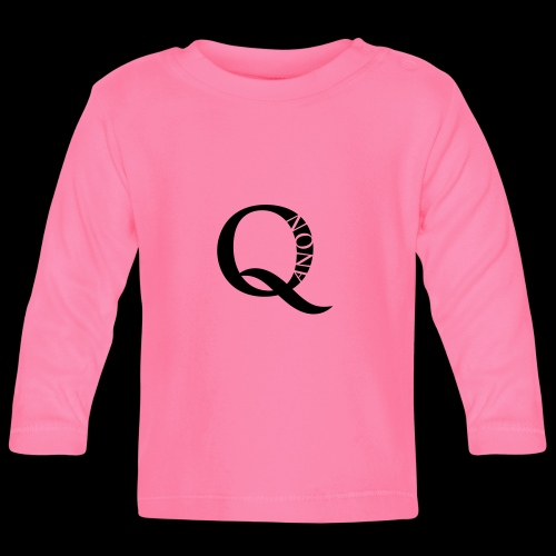Q Anon Q-Anon Original Logo - Baby Langarmshirt