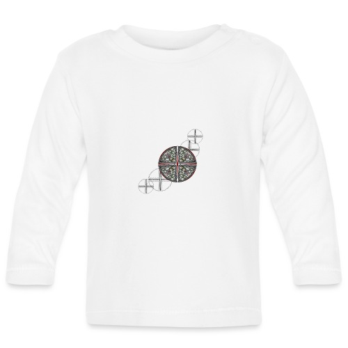 Archangel Michael Swash - Baby Long Sleeve T-Shirt