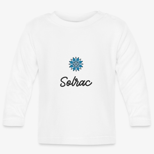 SOLRAC Writing - Camiseta manga larga bebé