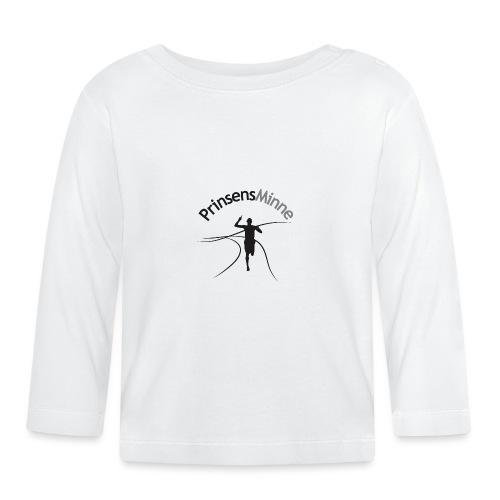PrinsensMinne logga - Långärmad T-shirt baby