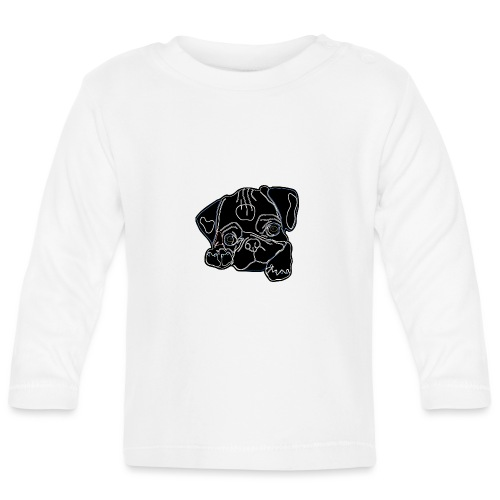 Pug Face - Baby Long Sleeve T-Shirt