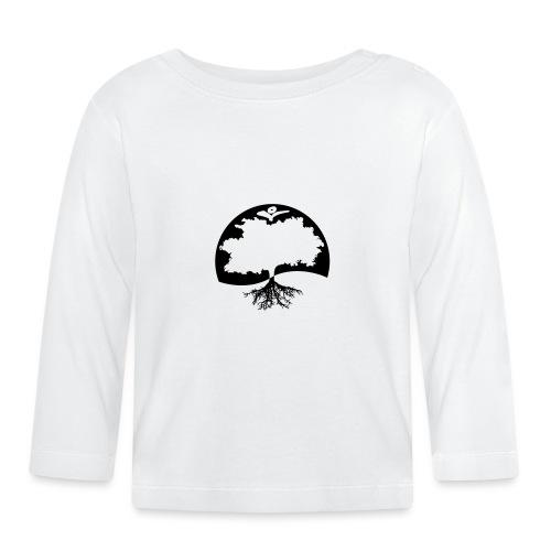 Naturals Logo Grafik - Baby Langarmshirt