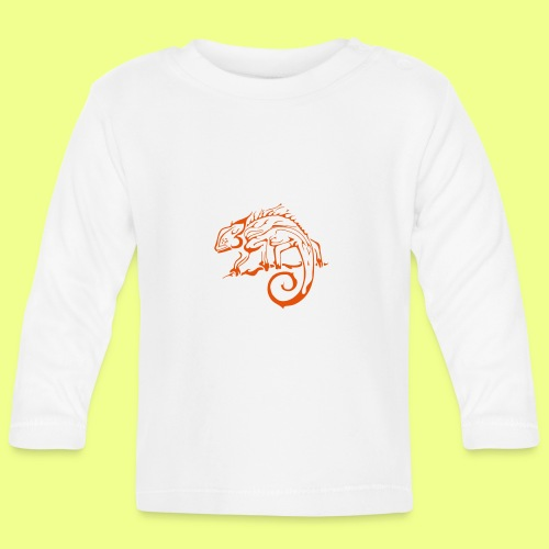 iguana - Camiseta manga larga bebé