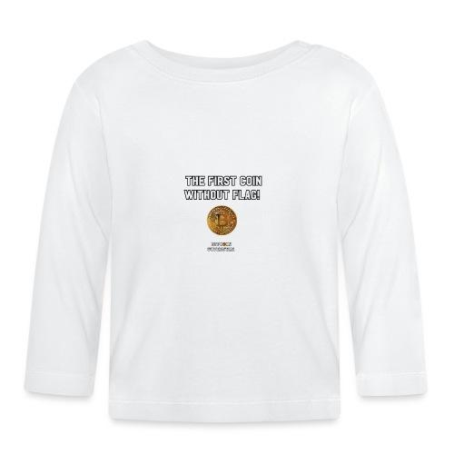 Coin with no flag - Maglietta a manica lunga per bambini