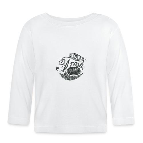 Fresh start - Baby Langarmshirt