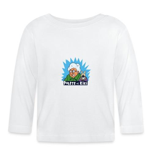 tshirt polete et kiki - T-shirt manches longues Bébé