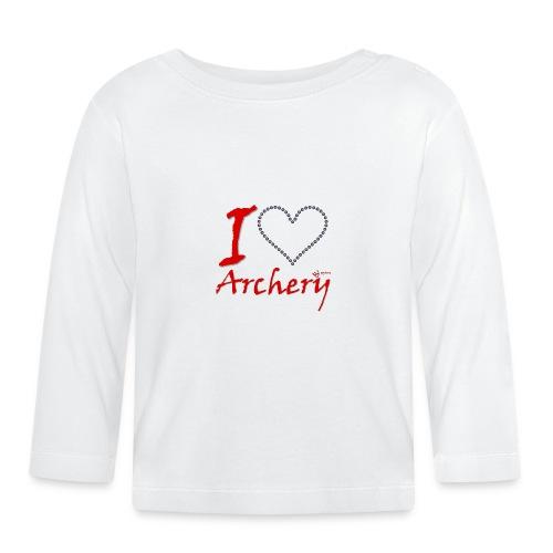 Archery Love - Baby Langarmshirt