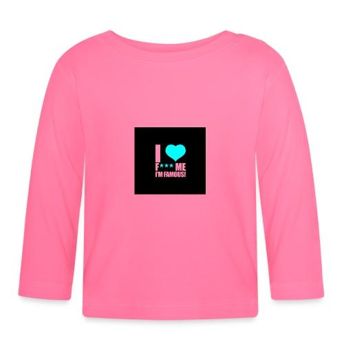 I Love FMIF Badge - T-shirt manches longues Bébé