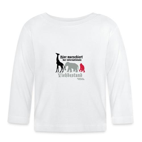 viehbestandinternational2 - Baby Langarmshirt