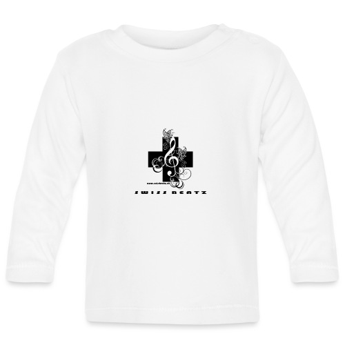 Swiss Beatz Logo with L - Baby Langarmshirt