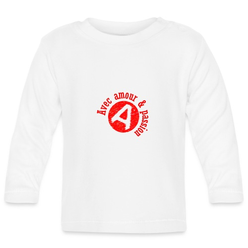 Agapao, - T-shirt manches longues Bébé