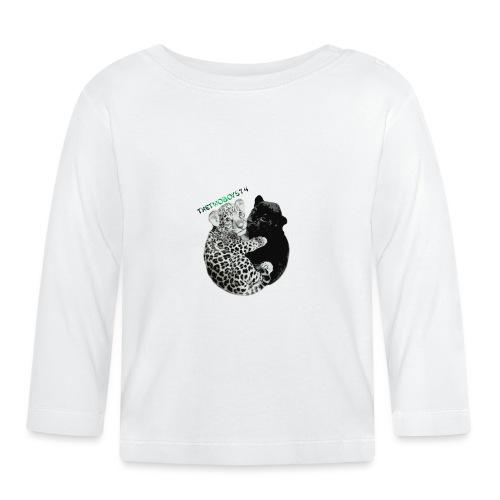 panther jaguar taske - Langærmet babyshirt