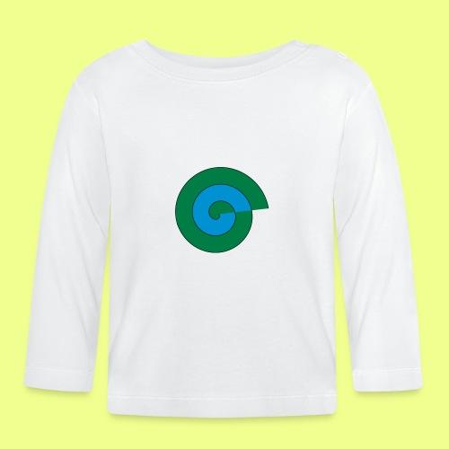 espiral color - Camiseta manga larga bebé