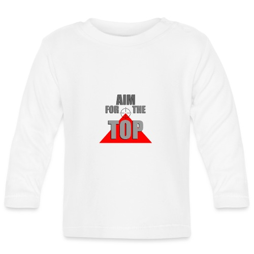 Aim For The Top, by SBDesigns - T-shirt manches longues Bébé