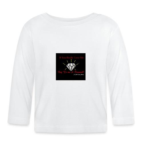Comprami un diamante - Maglietta a manica lunga per bambini