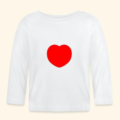 Heart - Baby Langarmshirt
