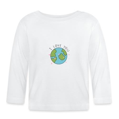 iloveyou - Maglietta a manica lunga per bambini