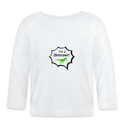 I¨m a dinorawr - Långärmad T-shirt baby