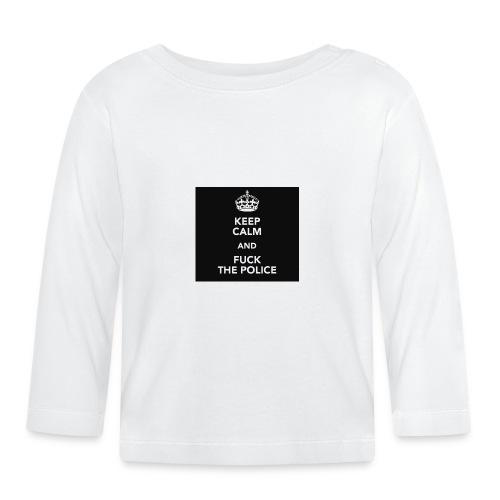 #KeepCalmAndFuckThePolice - Långärmad T-shirt baby