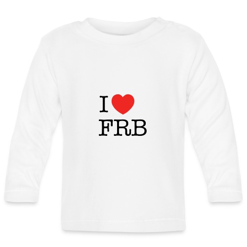 I Love FRB - Langærmet babyshirt