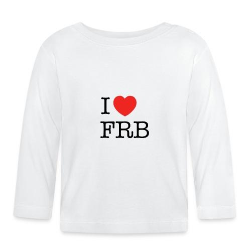 I Love FRB - Børnekollektion - Langærmet babyshirt