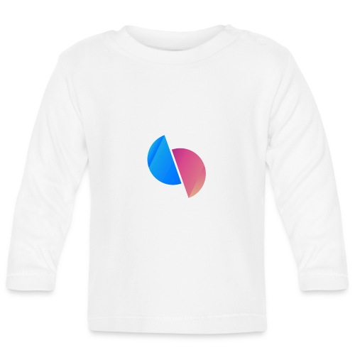 Ediplace logo färg - Långärmad T-shirt baby