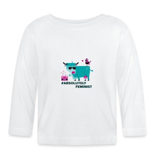 Absolutely Feminist (div) - Baby Langarmshirt