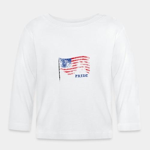 USA - Koszulka niemowlęca z długim rękawem
