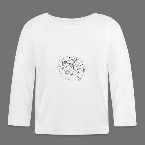 Strategia SEO nr 1 (czarny) - Koszulka niemowlęca z długim rękawem